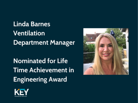 Linda Barnes Estimating Manager Nominated for Life Time Achievement in Engineering Award